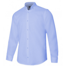 CAMISA OXFORD STRETCH MANGA...